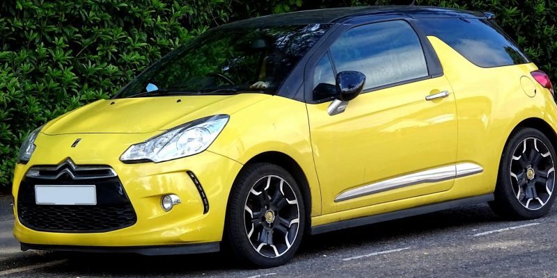 yellow-citroen-car