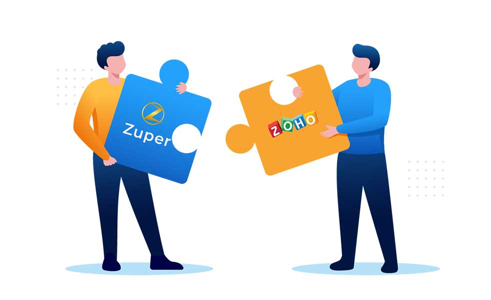 Zupercharge your sales and service teams with Zuper app for Zoho CRM