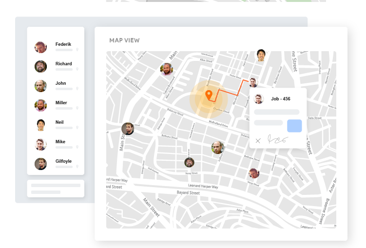Zuper's real-time Location Intelligence